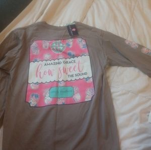 Simply Southern amazing Grace long sleeve tee nwt